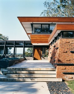 Audette house at Castlecrag by Peter Muller 1953. Photo Michael Wee.