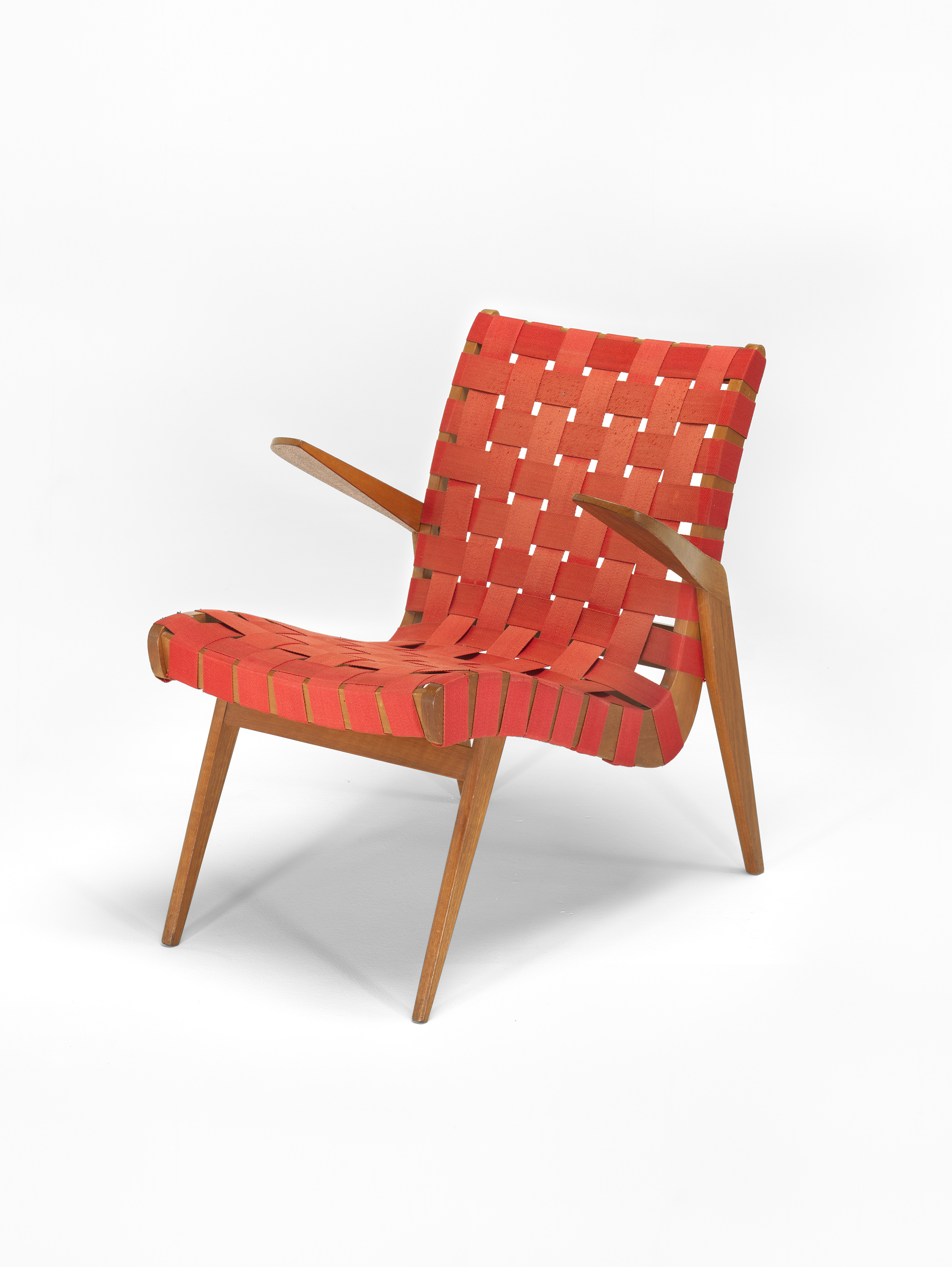 Snelling furniture highlighted at ngv mid century show snelling line armchair with hardwood frames and interlaced cotton webbing designed 1946 by malvernweather Choice Image